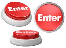 Free Button Enter Stock Images - 10338654