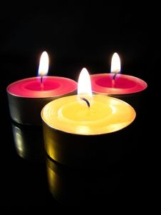 Free Candles Royalty Free Stock Photos - 10339208