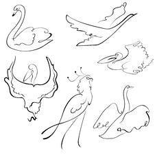 Free Birds Design Set Stock Images - 10339944