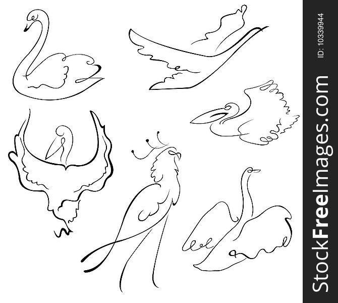 Birds Design Set