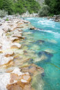 Free Beautiful Colour Of Stream Neretva River Stock Photography - 10341192