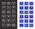 Free Icon Set Royalty Free Stock Photos - 10341808