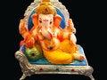 Free Elegant Lord Ganesha Royalty Free Stock Photos - 10343978