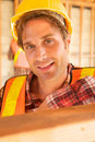 Free Close Up Of Construction Worker Royalty Free Stock Images - 10348439