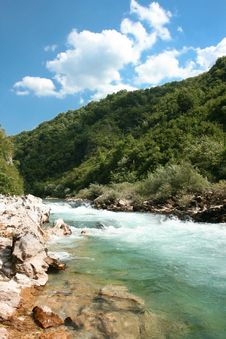 Free Beautiful Colour Of Stream Neretva River Royalty Free Stock Photo - 10341185