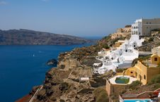 Free Santorini Island In Greece Royalty Free Stock Images - 10341279