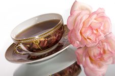 Free Flavored Tea In A White Porcelain Royalty Free Stock Image - 10342246