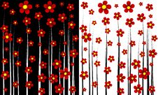 Free Flower Abstract Background Stock Photos - 10342283