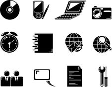Free Web Icons. Internet Buttons Stock Photo - 10342510