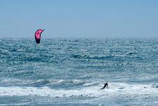 Free Kiteboarder Stock Photography - 10342542