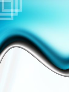 Free Blue Wave Royalty Free Stock Image - 10342656