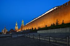 Free Kremlin Wall Stock Image - 10343051