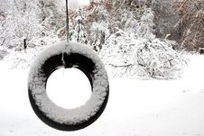 Free Lonely Tire Swing Stock Photo - 10343190