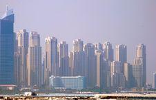 Jumeirah Beach Residence Stock Images