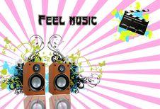 Free Music1 Stock Image - 10343481