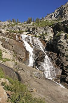 Sequoia National Park Waterfall Royalty Free Stock Photos