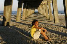 C - African-American Girl 9 Stock Image