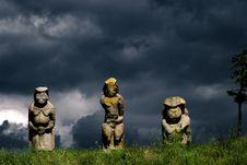 Free Scythian Stone Sculptures Stock Image - 10344491