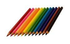 Free Coloured Pencils Royalty Free Stock Image - 10344566