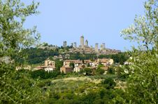 Tuscany, San Gimignano Royalty Free Stock Images