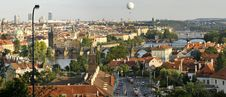 Free Prague Bridges Panorama Stock Photos - 10348133