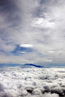 Free Aerial View Of Mount Kinabalu Royalty Free Stock Image - 10348966