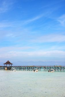 Sipdan Water Village Resort Stock Photography