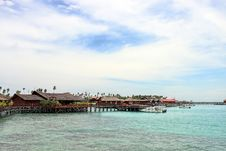 Sipdan Water Village Resort Stock Image