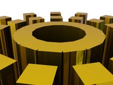 Free Metallic Cylinder Stock Photo - 10349490