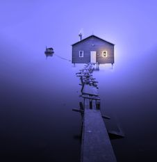 Free Blue, Sky, Light, Purple Stock Photography - 103480102