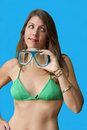 Free Snorkel Mother On Vacation Royalty Free Stock Images - 10355209