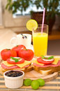 Free Breakfast Set Royalty Free Stock Images - 10359449