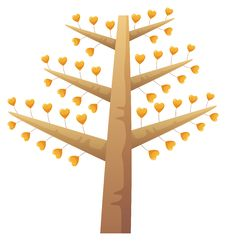 Free Heart Tree Stock Photos - 10351043