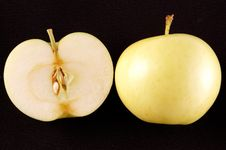 Free Cut Green Apple Stock Images - 10352074