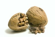 Free Pair Of Walnut Stock Photography - 10352412