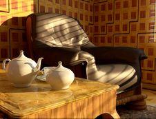 Free Tea Service Stock Photo - 10352710