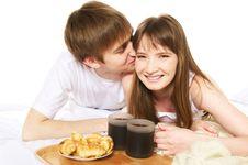 Free Romantic Breakfast Stock Photo - 10352770