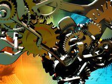 Free Mechanical Clock Stock Photos - 10352793