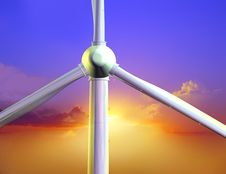 Free Energy Of Wind Stock Photos - 10353123