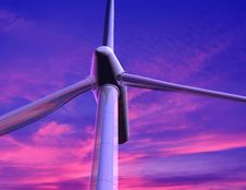 Free Energy Of Wind Royalty Free Stock Photography - 10353127