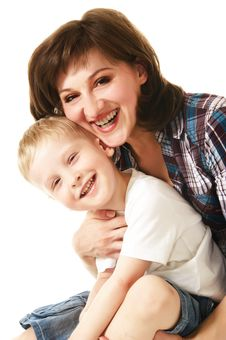 Free Mother And Son Stock Images - 10353234