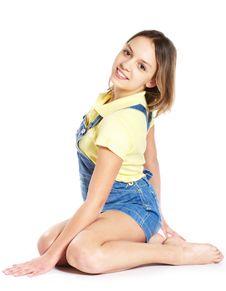 Free Smiling Teenage Girl Royalty Free Stock Images - 10353409