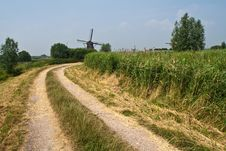 Free Dutch Windmill Royalty Free Stock Photo - 10353465
