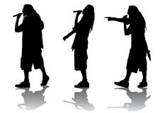 Free Rap Singer Stock Photography - 10353672