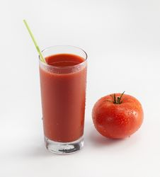 Fresh Tomato Juice Stock Photos