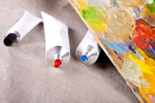 Free Paint Tubes Stock Images - 10355384