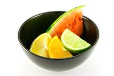 Free Citrus Fruit And Watermelon Stock Photos - 10355573