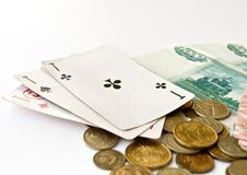 Free Three Cards Stock Photos - 10355693