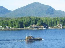 Free Tug Boat In Ketchikan, Alaska Stock Image - 10356181