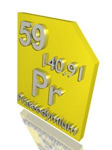 Free Praseodymium Royalty Free Stock Photography - 10356927